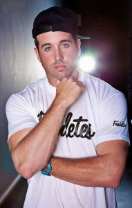 Mike Stud, opening for Timeflies at Gustavus on May 9, 2014
